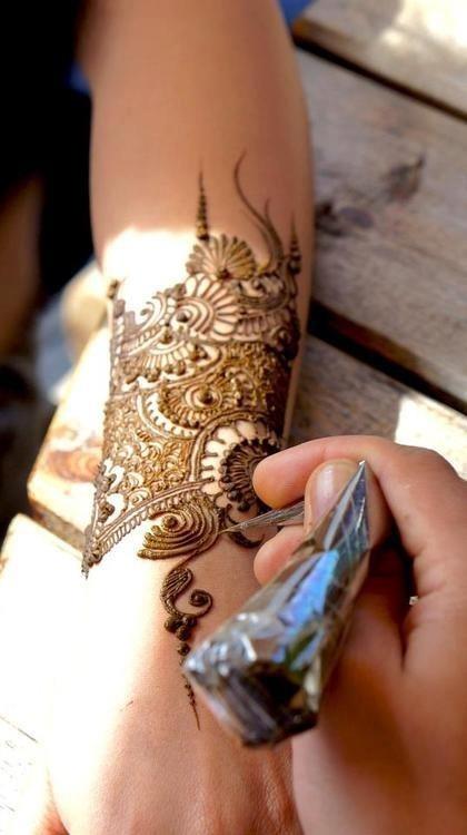Bridal Henna art