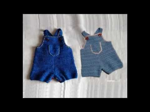 Pelele o enterizo a crochet 1ª parte #tutorial #diy - YouTube