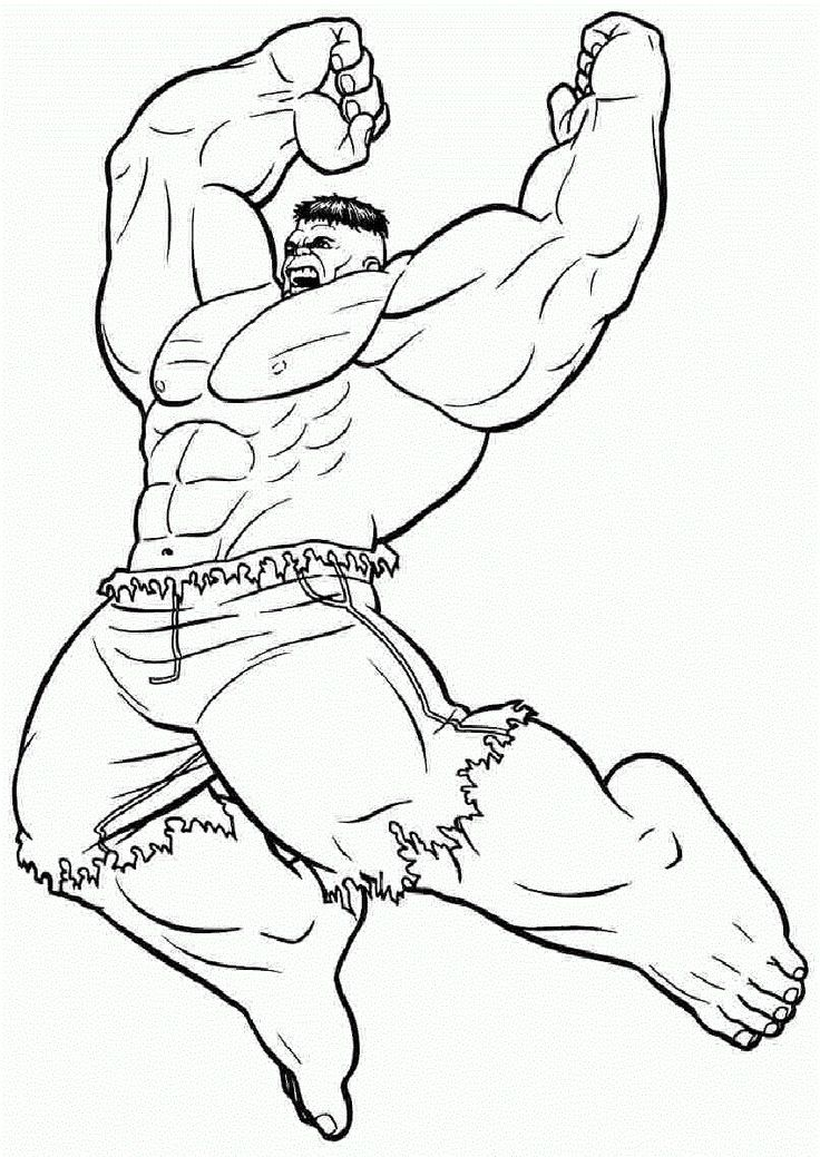 Free Coloring Pages For Boys Hulk Coloring Pages Superhero Coloring Pages Superhero Coloring