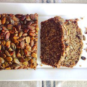 Glutenvrij brood met quinoa, chia zaad en pompoenpitten