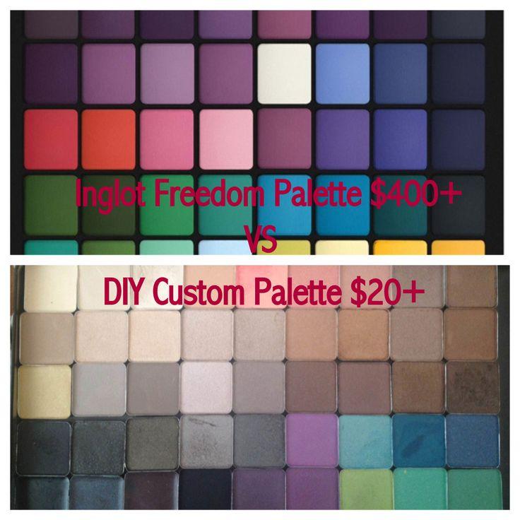 DIY Custom Palette  Dollface Blog Love  Pinterest