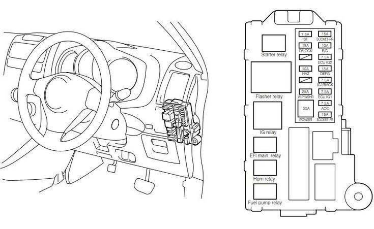 Daihatsu Terios Wiring Diagrams  No  9644