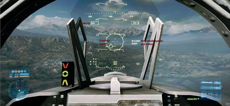 Battlefield 3 F16 jet