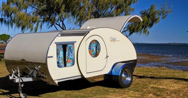 Quite a lot of interesting, tiny campers are coming from Down Under. This includes the unique Gidget Retro Teardrop Camper that features a ...