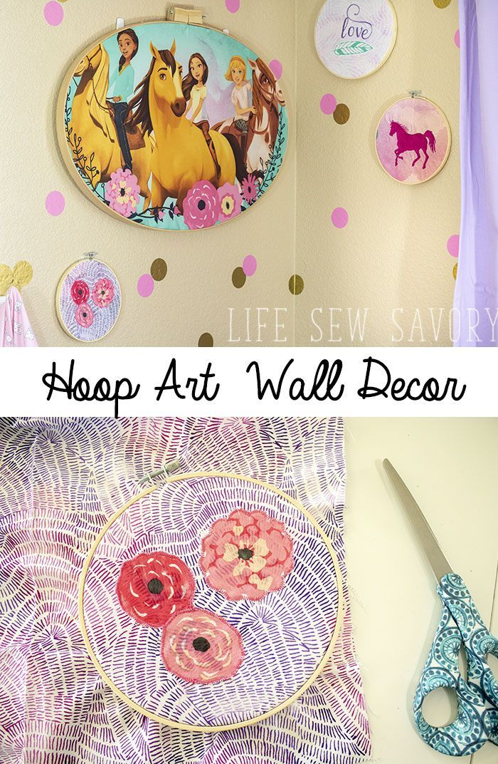 Stickrahmen Kunst Kinderzimmer Wanddekoration Ideen von Life Sew Savory   – Fabulous Finds from Blogging Friends
