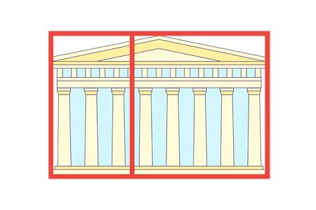 The Greeks were fascinated by the Golden Rectangle, which has the property, if you cut it in two parts so that the right part is a perfect square, then the left rectangle has side lengths in the same ratio as the original rectangle. This idea has been used throughout architecture, and it even appears in the White House. What is the ratio of the shorter side over the longer side of a Golden Rectangle, rounded to the nearest thousandth?