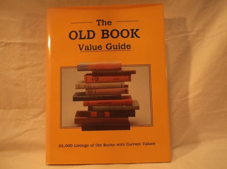 The Old Book Value Guide; , 25000 Listings; Collector Book; Hardcover; 1988