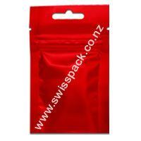 Red With Euro Solt Visit at http://www.swisspack.co.nz/3-side-seal-flat-pouch/