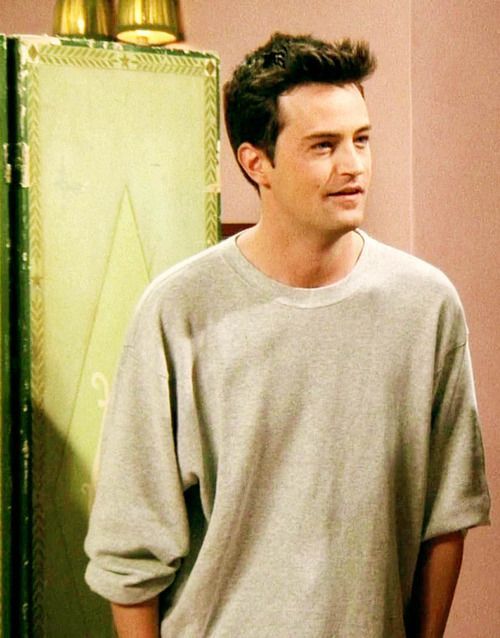 Chandler Bing from F • R • I • E • N • D • S played by Matthew Perry.