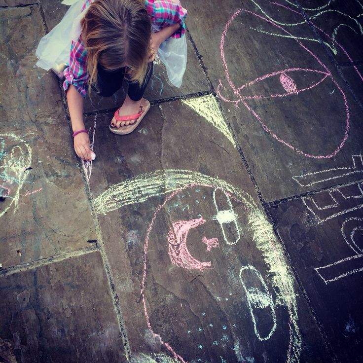 Chalking and break time