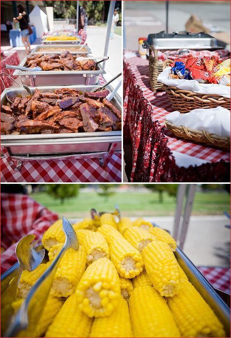 Pin by kellie mairs on party ideas pinterest food for Backyard bbq decoration ideas