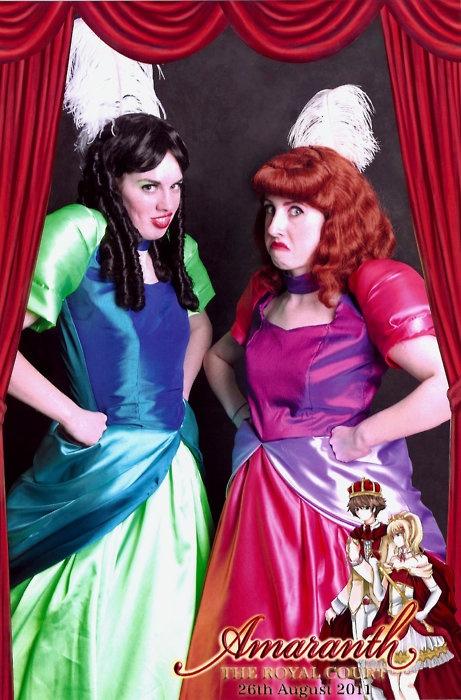 Cinderella Ugly Stepsisters Halloween Costumes