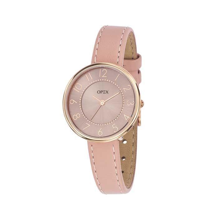 Montre Opex Carolyn X3996LA2 - Montres et Plus  #rose #cuir #printemps #été #bijoux