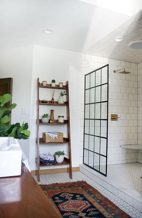 Contemporary Art Sites Modern Vintage Bathroom Makeover