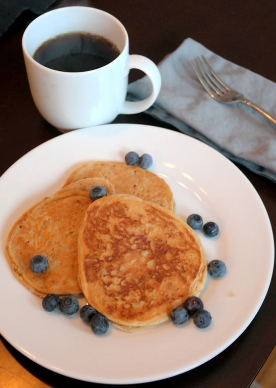 Simple Protein-Packed Pancakes - A Foodie Stays Fit.