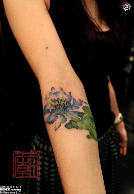 watercolor tattoo #ink #tattoo