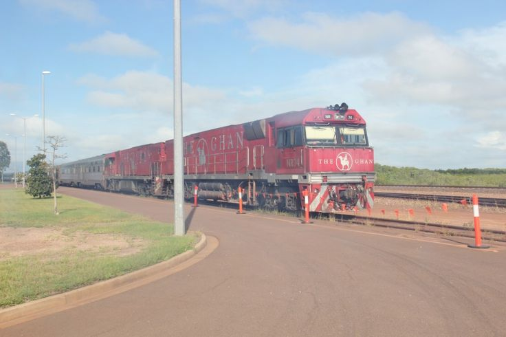 The Ghan Train Australia in Darwin #NTAustralia http://www.tipsfortravellers.com/ghan-train-australia-video-tour-iconic-railway-journey/ #australia #theghan #trains