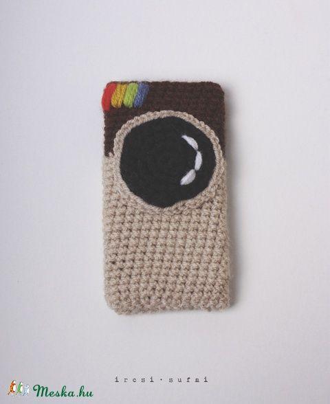 Meska - Horgolt telefontok instagram ircsisufni kézművestől #instagram #crochet #phonecase #case
