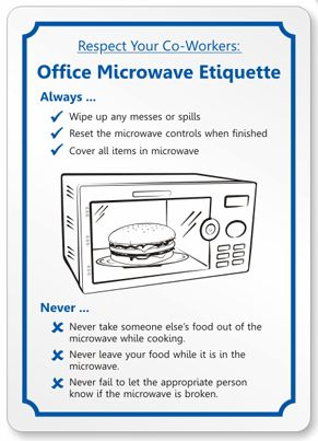 funny office etiquette rules - Google Search | Creative ...
