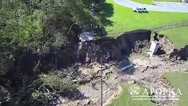 Irma's storm water causes massive washout in Apopka, Florida -- Earth Changes -- Sott.net