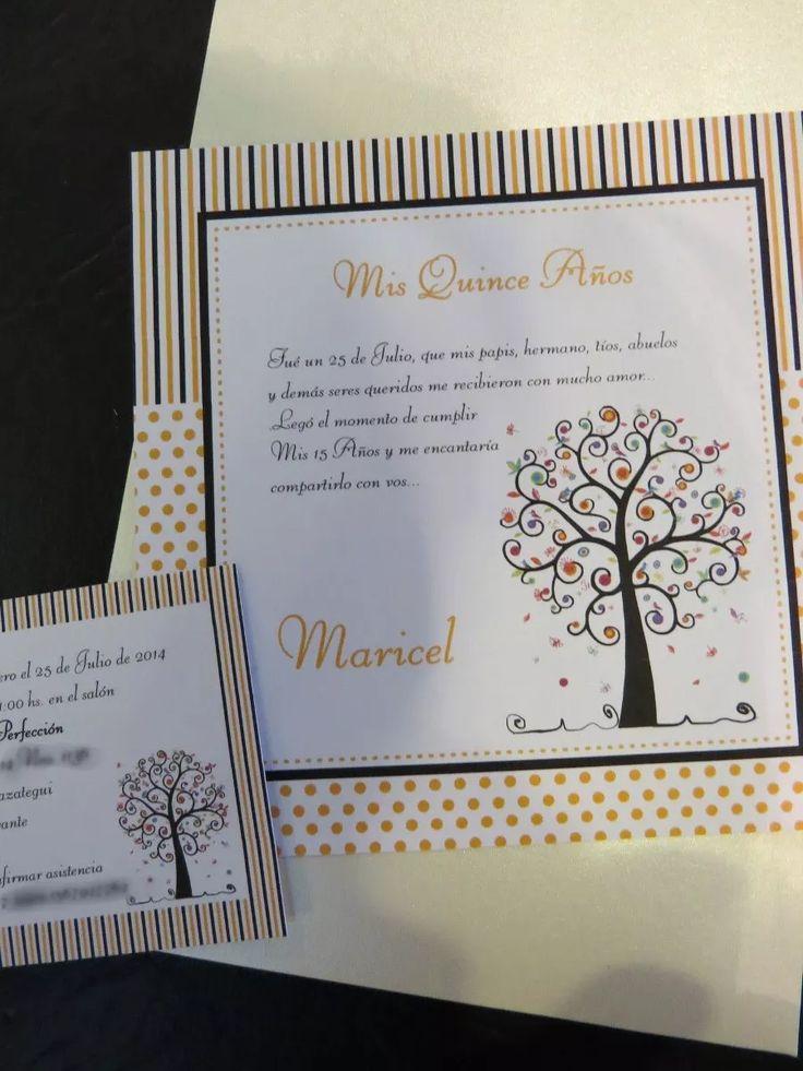 60 Invitaciones Tarjetas De Casamiento, 15 Años, Bautismo - $ 952,20 en Mercado Libre