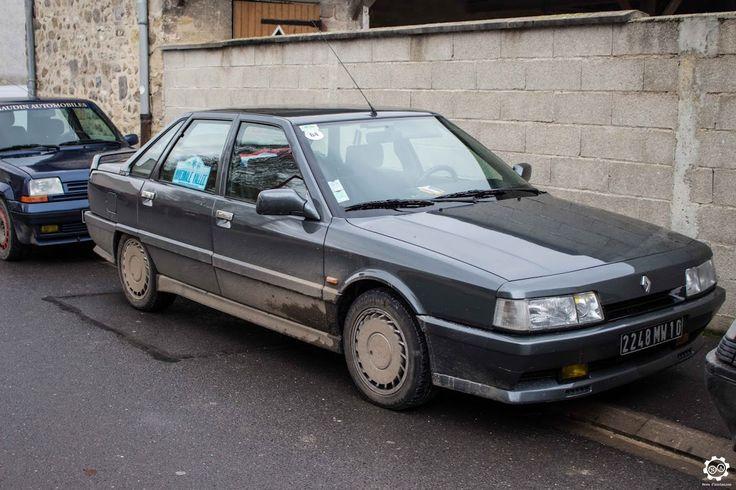 #Renault #R21 2L Turbo au rallye Hivernale Vallée. Reportage complet : http://newsdanciennes.com/2015/11/29/retour-a-lhivernale-vallee/ #Voitures #Anciennes #Vintage #ClassicCar