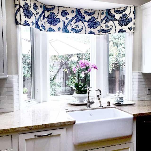 bay window over kitchen sink ideas