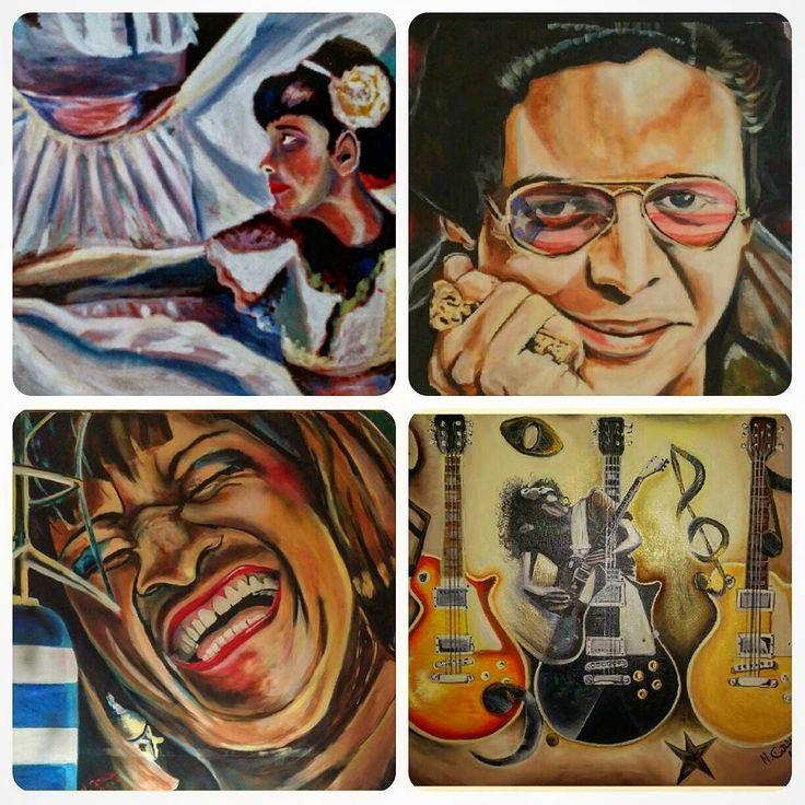 Music and dance #oilpainting #acrylic #hectorlavoe #celiacruz #rock #rockmusic #salsa #salsamusic #cuba #puertorico #colombia #usa #instaart #instapic #instafollow #instagram #instagood #instagramers #mydrawing #illustration #myartwork #artist_4_shoutout #repost #follow4follow #talentedpeopleinc #latino #musica #guitar by nelsoncardenas72