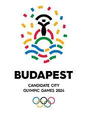 Official logo of Budapest 2024 Summer Olympics and Paralympics.jpg