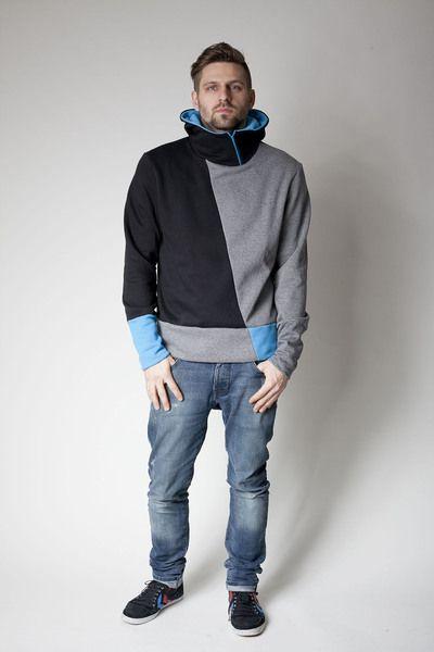 Hoodies – sorted Männer Hoodie Zipper  – ein Designerstück von sorted-clothing…