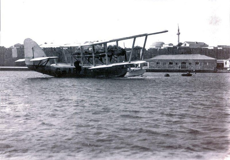 Rhodes island hydroplane. Yes they existed back then!