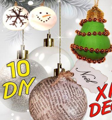 10 different DIY Christmas decoration with recycling // 10 különféle karácsonyi dekoráció újrahasznosítással // Mindy - craft tutorial collection // #crafts #DIY #craftTutorial #tutorial #SantaCrafts #Santa #ChristmasCrafts