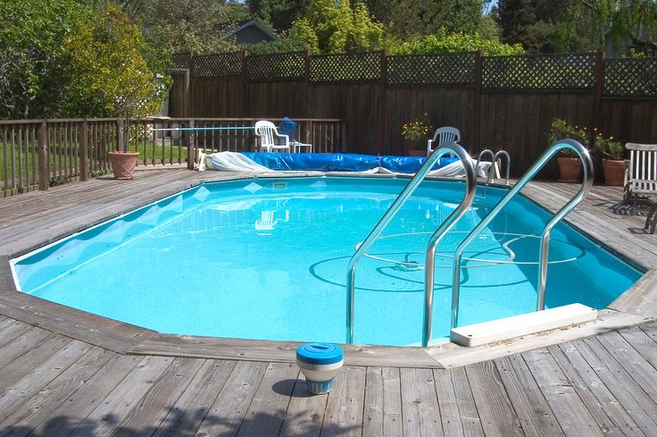 Above Ground Oval Pool Deck Plans Pools Amp Backyards