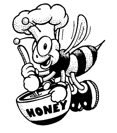 coloring pages with bees - photo#22