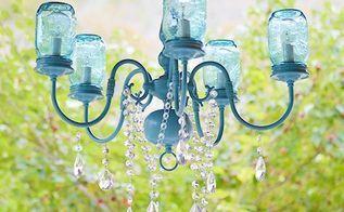 DIY del tarro lámpara de araña, bricolaje, iluminación, tarros de cristal, reutilización Upcycling, bricolaje Mason Jar Araña