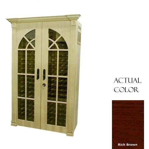 Vinotemp Vino-700monacom-rb 440 Bottle Monaco-modern Wine Cellar With Cornice - Glass Doors / Rich Brown Cabinet by Vinotemp. $7479.00. Vinotemp VINO-700MONACOM-RB 440 Bottle Monaco-Modern Wine Cellar With Cornice - Glass Doors / Rich Brown Cabinet. VINO-700MONACOM-RB. Wine Cellars. This elegant Vinotemp Wine Cellar comes with two decorative glass doors that feature a special furniture trim design. The wine mate self contained cooling system ensures proper circulation whil...