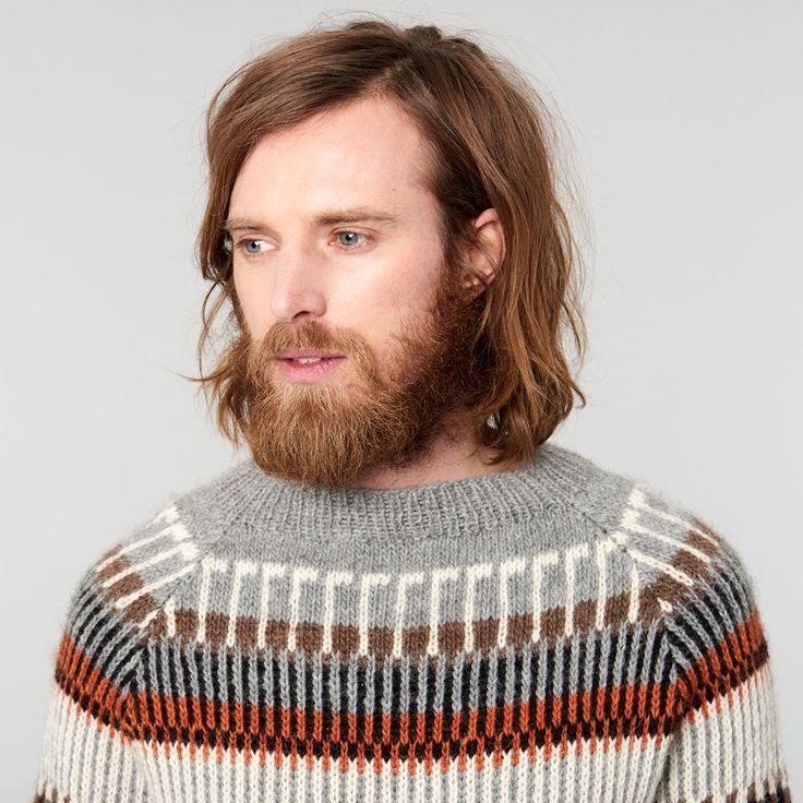 Öland Strik Sweater  love the colors!