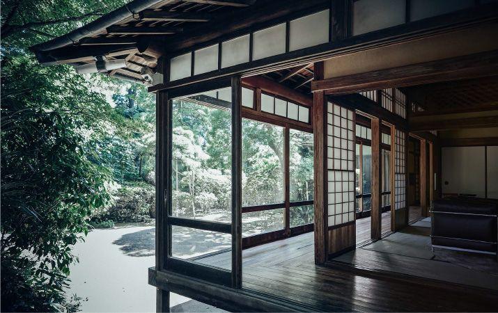 日本家屋、ゆらぎの美