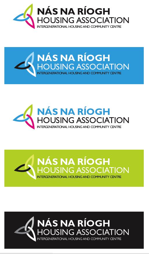 Some more proposed Nás na Ríogh logos and colour schemes but mainly the log