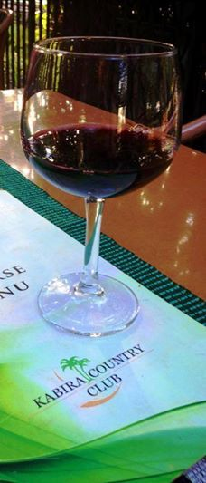 Take a pick from our wine menu at the Terrace Bar that houses a fine collection