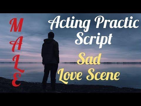 Dialogue Practice Script ( Sad love scene ) - YouTube