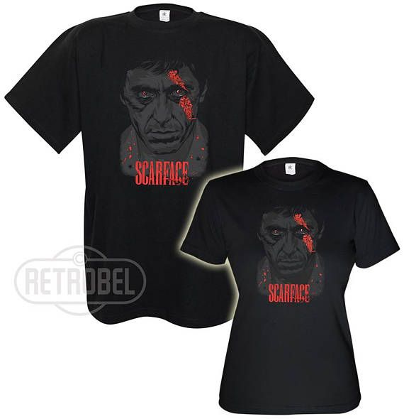 Scarface Tony Montana Couples T-shirts/Couples short sleeve
