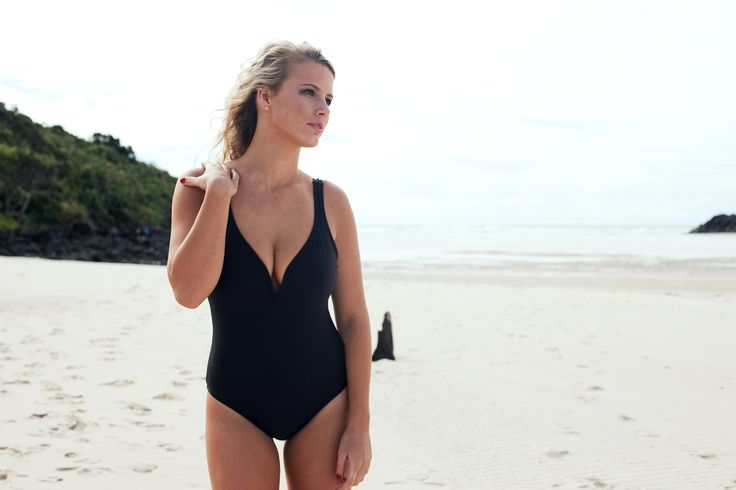 Annake Swimwear V one Piece is simply stunning available in 4 colours and 2 prints