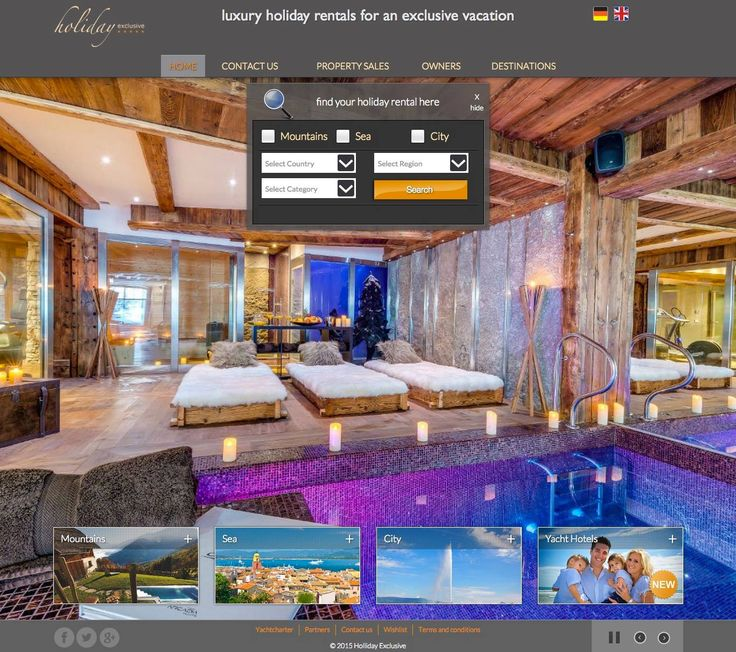 Design and programming for the #website Holiday Exclusive #Mallorca #Spain  Find your #holiday #rental here http://www.vacationrentalsexclusive.com