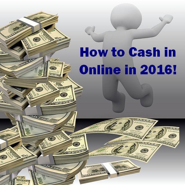How to earn Money Online in 2016