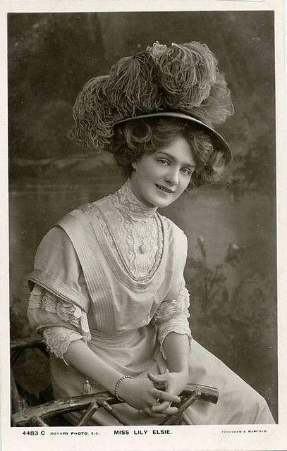 Шляпки Лили Элси (Lily Elsie.1886-1962)