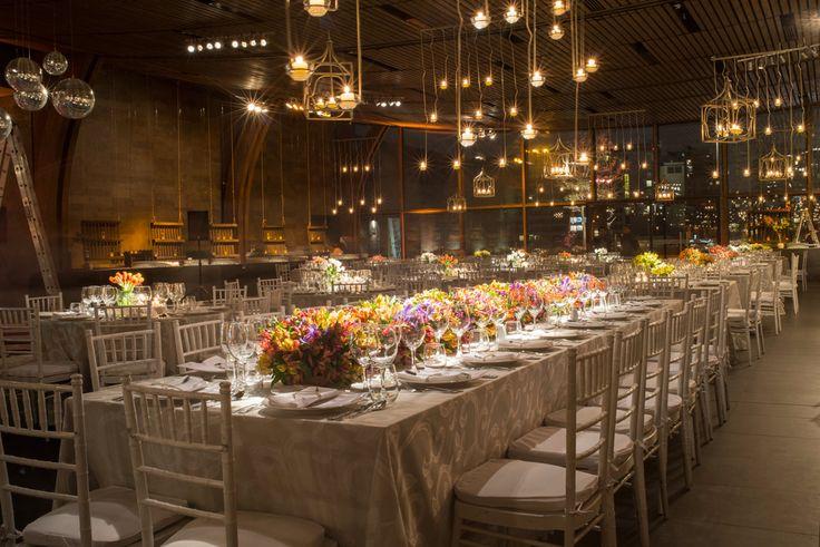 Matrimonio Espacio Gastronómico. #Matrimonio #Banqueteria #Decoracion #MesaNovios #Luces #Flores #Boda #Wedding #Catering #Flowers #Lights