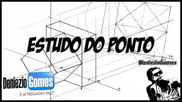Geometria Descritiva - Simetria de Pontos.