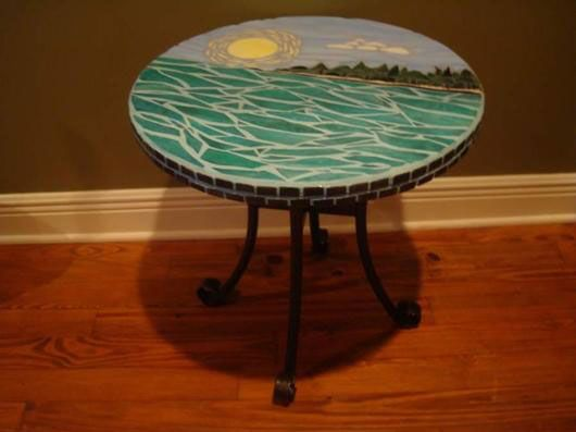 1000 Images About Mosaic Table Tops On Pinterest Mosaic Tables Mosaics And Sunflowers