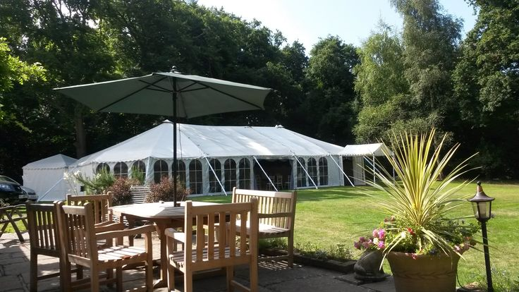 Southern Marquees provided a stunning marquee for this wedding at Bradgate Manor in Netley Abbey, Hampshire